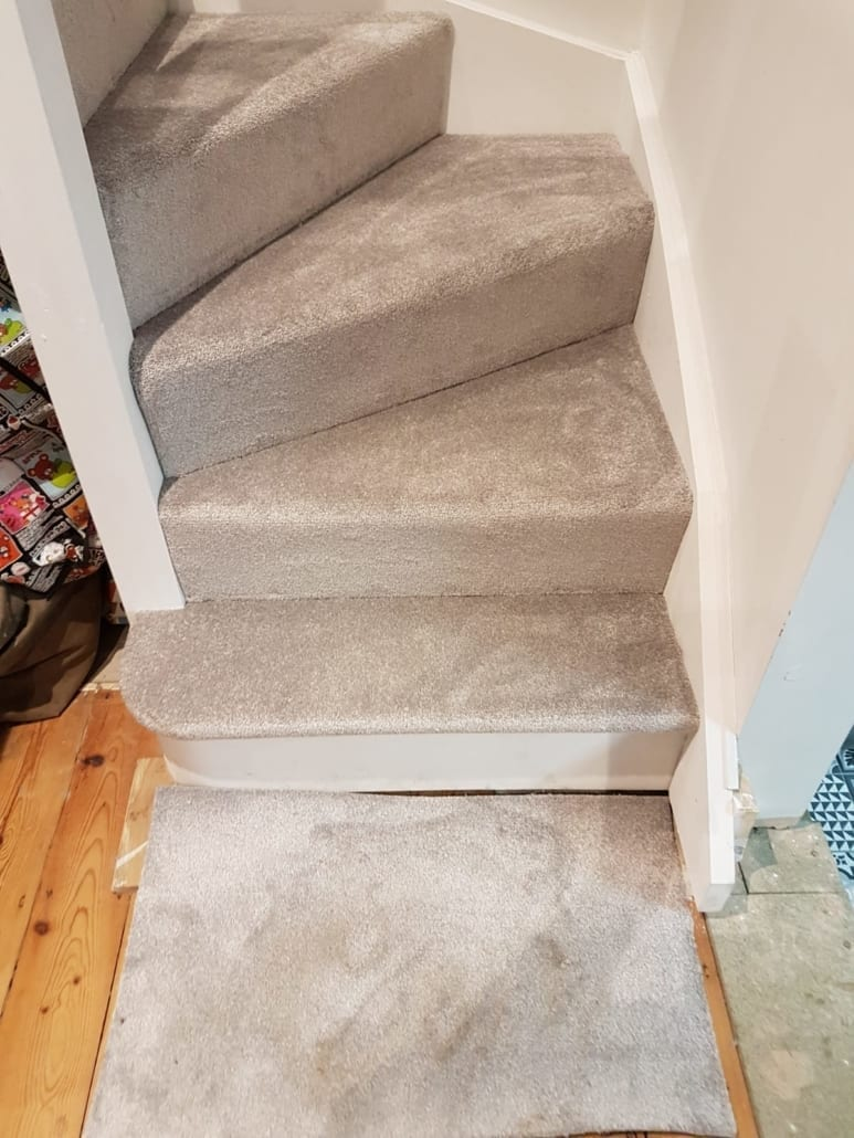 Lazio Silver Heathers Carpet In Silver And Grey For Hall Stairs And Landing And 3 Bedroom Fitted In St Albans Herts Carpets