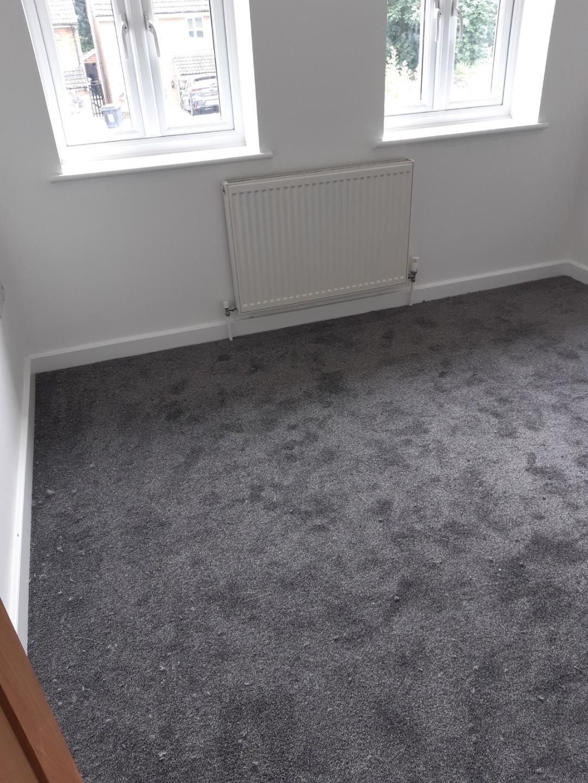 Splendour 77 Dark Grey Carpet Installed In Markyate Herts Carpets